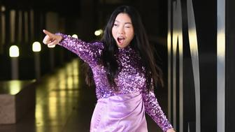 LOS ANGELES, CA - OCTOBER 22:  Awkwafina attends the 2018 InStyle Awards at The Getty Center on October 22, 2018 in Los Angeles, California.  (Photo by Emma McIntyre/Getty Images for InStyle)