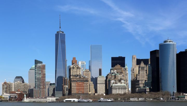 One World Trade Center offers striking views of the city.