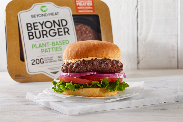 """The Beyond Meat company <a href=""""https://markets.businessinsider.com/news/stocks/beyond-meat-stock-price-sales-data-consumers-ramping-up-purchases-2019-6-1028310860"""" role=""""link"""" data-ylk=""""subsec:paragraph;itc:0;cpos:__RAPID_INDEX__;pos:__RAPID_SUBINDEX__;elm:context_link"""">went public</a> on May 1."""