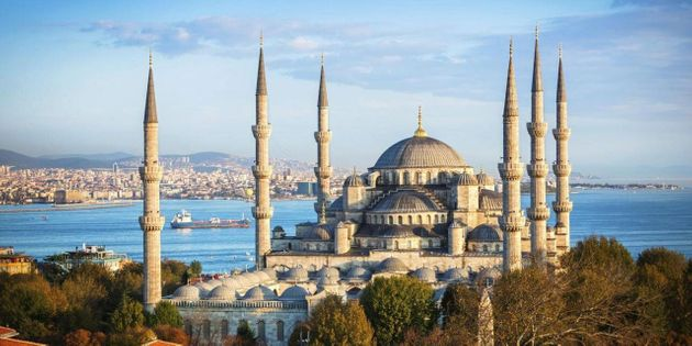 Istanbul's Blue Mosque is a popular tourist