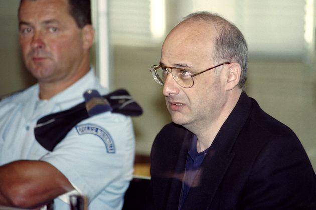 Jean-Claude Romand, en junio de 1996, durante el juicio por la muerte de su