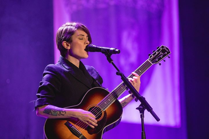 """""""Fighting for equality gives my life such purpose,"""" Tegan Quin of the pop-rock duo Tegan and Sara said."""