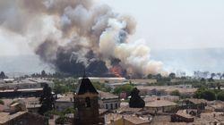 De nombreux départs de feux dans le Gard à cause de la