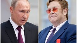 Elton John Calls Out Vladimir Putin For His LGBTQ