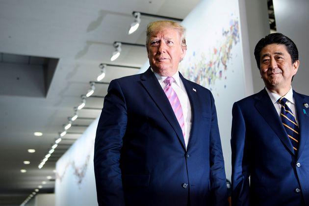 トランプ大統領、日米安保条約は「不公平な条約」「変えなくてはならない」と主張