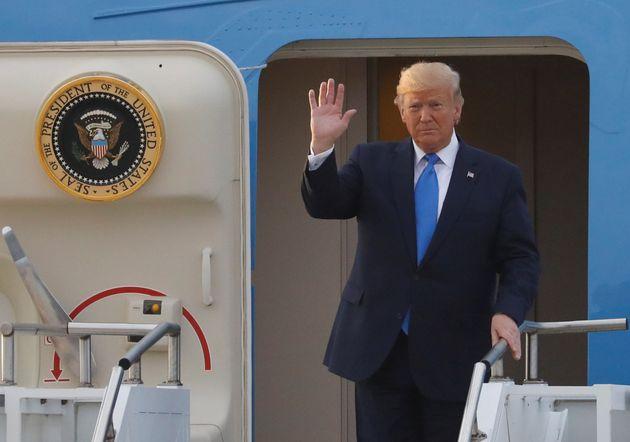 도널드 트럼프 대통령 환영만찬에 박세리, EXO