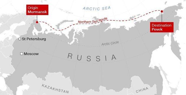 «Τσέρνομπιλ στον πάγο»: Η Ρωσία σχεδιάζει να στείλει πλωτό πυρηνικό σταθμό στην