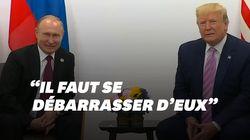 Trump et Poutine sont tombés d'accord sur les