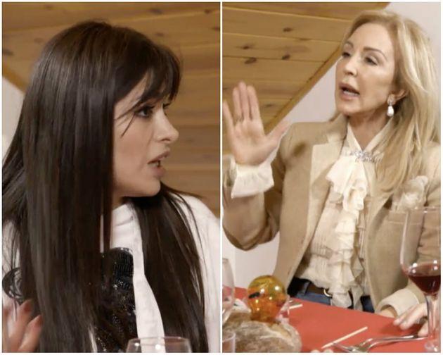 Carmen Lomana pierde los papeles con Miriam Saavedra: