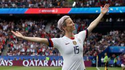 Megan Rapinoe's World Cup Goal Celebration Is Now A Trump-Trolling