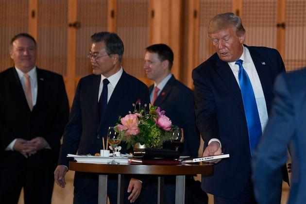 EXO가 함께한 도널드 트럼프 대통령 환영만찬이