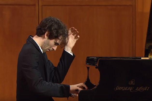 Alexandre Kantorow lors des auditions du prix Tchaikovski de Moscou qui se tenaient du17 au 27
