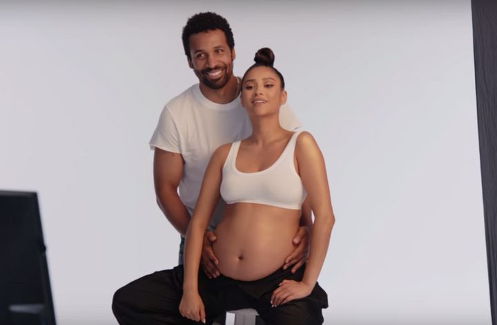 Shay Mitchell and her partner Matte Babel featured in a teaser for her pregnancy series.