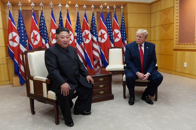 Trump Invites Kim Jong Un To US After Crossing Into North
