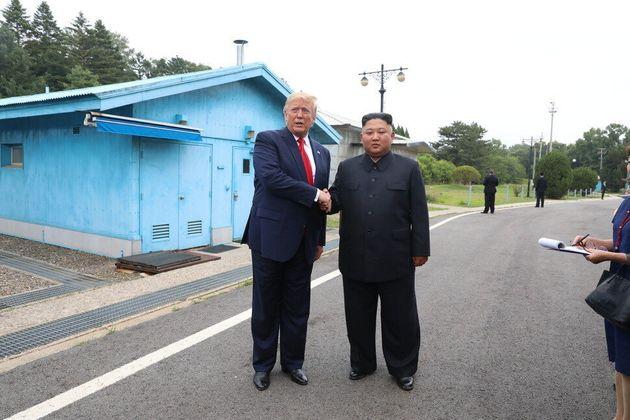 트럼프와 김정은 판문점 만남은 '남북정상회담