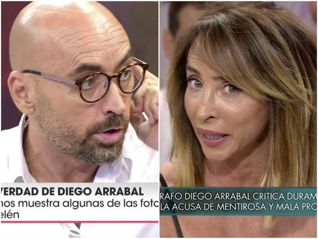 El rapapolvo de María Patiño a Diego Arrabal por su
