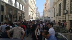 Tribunal de Sidi M'hamed : rassemblement de solidarité avec les manifestants interpellés