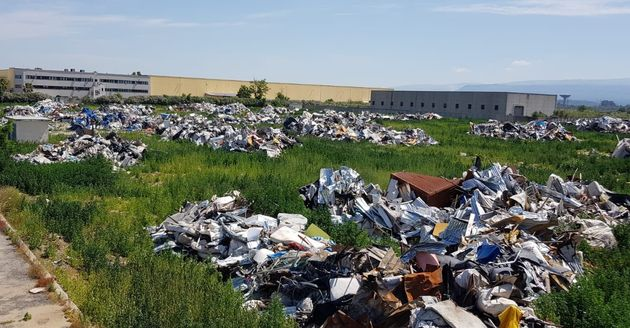 San Ferdinando 100 giorni dopo, la ruspa salviniana trasforma la baraccopoli in
