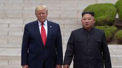 Trump cruza fronteira e é 1º presidente dos EUA a pisar na Coreia do