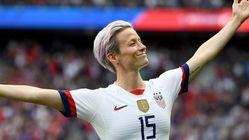 Et la pose de Megan Rapinoe lors du match contre la France devint un mème