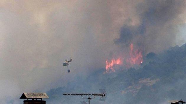 Los incendios de Tarragona, Ávila, Toledo y Madrid han quemado ya más de 10.000