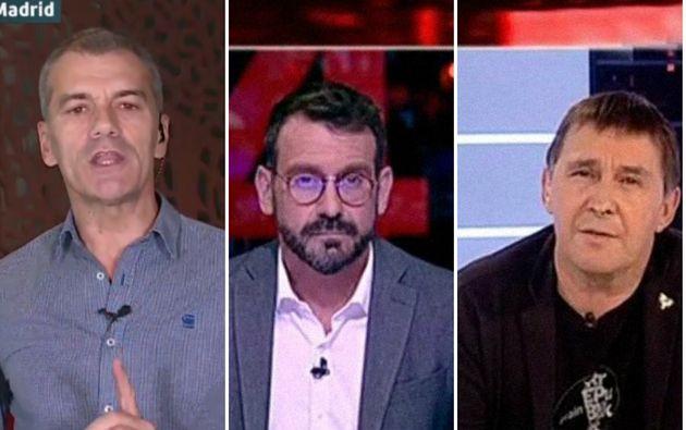 De izquierda a derecha: Toni Cantó, Marc Sala y Arnaldo