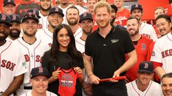 Actual Jays Fan Meghan Markle Shows Up At Yankees-Red Sox