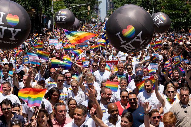La Gay Pride de New York a réuni près de 3 millions de