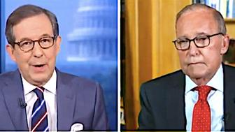 Chris Wallace and Larry Kudlow