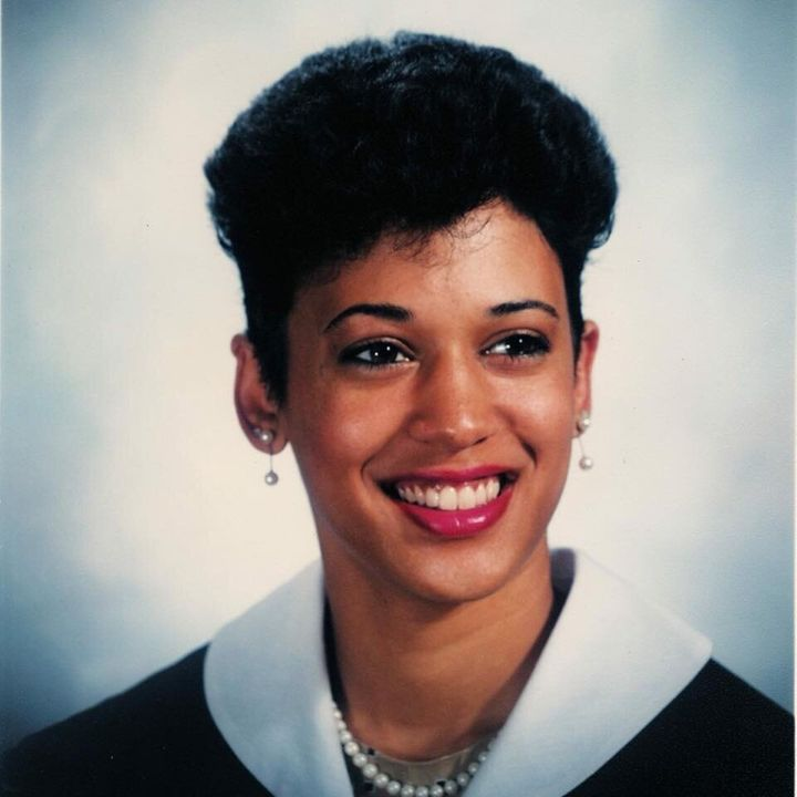 Kamala Harris's Howard University graduation photo.