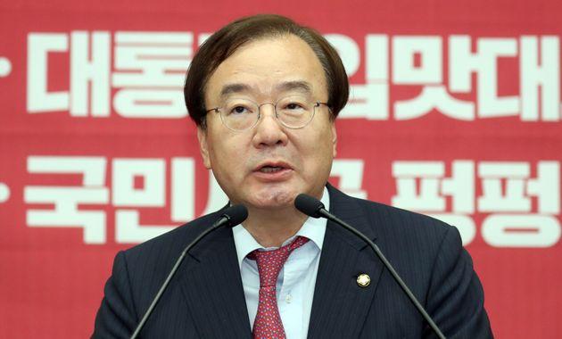 """판문점 회동 예측 실패에 강효상은 """"다행""""이라고"""