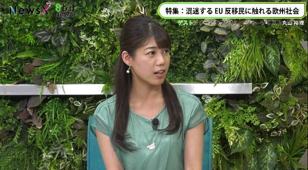 フリーアナウンサー/ジャーナリスト・丸山裕理さん