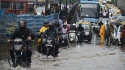 Train Delays And Traffic Jams In Mumbai After Heavy Rains Lash