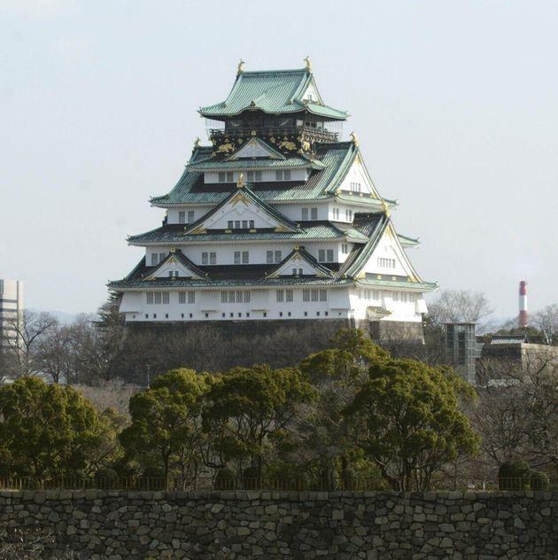 現在の大阪城天守閣