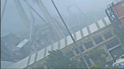 Immagini inedite del crollo del ponte Morandi. Gli inquirenti: