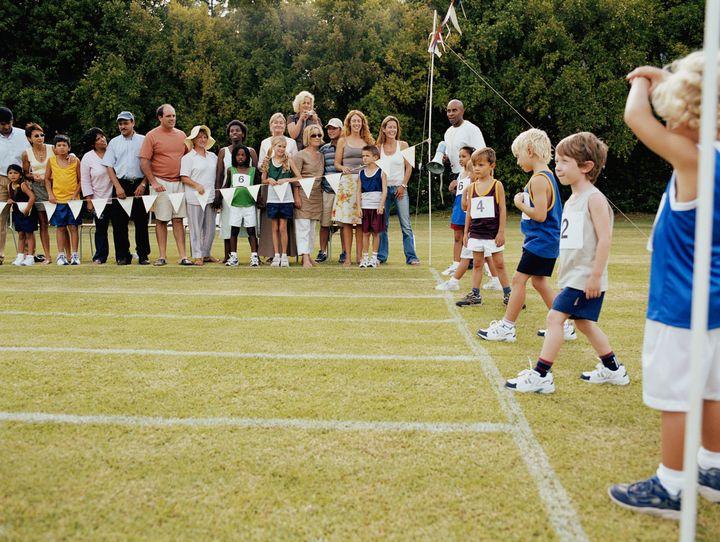 sports line children starting lining parents banned getty primary days behaviour ops swearing threatening bigshots via