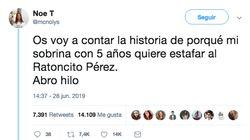La historia de una niña de cinco años que busca estafar al ratoncito Pérez ya ha conquistado