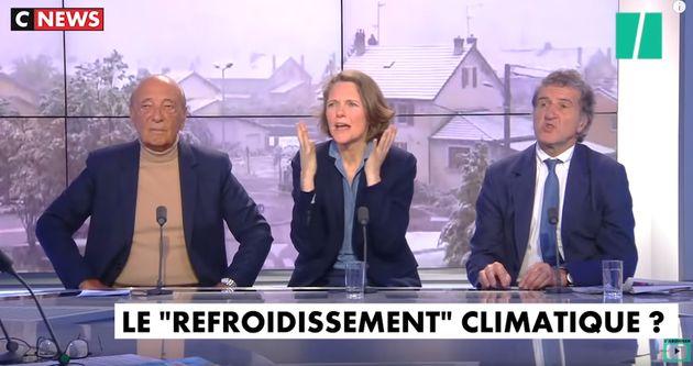 Claire Nouvian dans l'émission de Pascal Praud sur CNews,