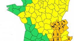 14 départements du sud-est encore en vigilance orange