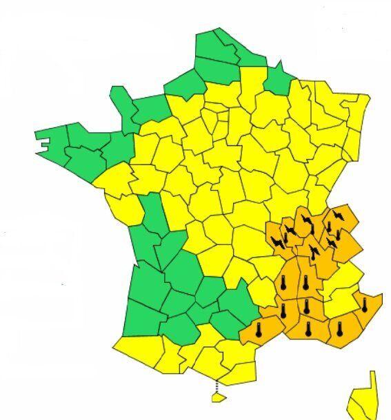 Canicule 14 Départements Du Sud Est Encore En Vigilance