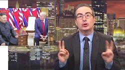 John Oliver Tells Donald Trump To Give Women The Same Respect As Kim Jong