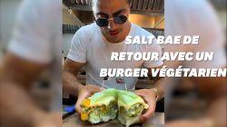 Salt Bae de retour avec un burger