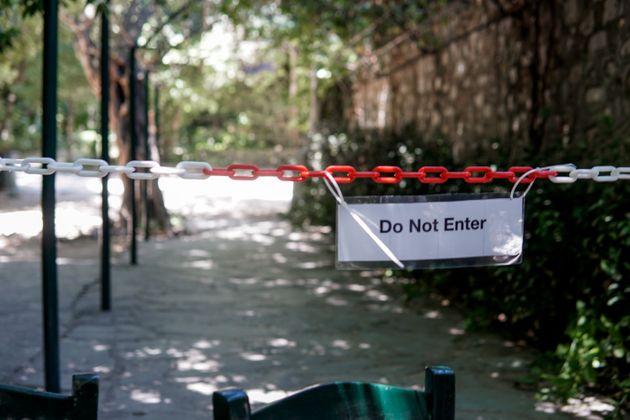 Kλειστός ο Εθνικός Κήπος λόγω των καιρικών