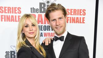 "PASADENA, CALIFORNIA - MAY 01: Kaley Cuoco and Karl Cook attend series finale party for CBS' ""The Big Bang Theory"" at The Langham Huntington, Pasadena on May 01, 2019 in Pasadena, California. (Photo by Presley Ann/FilmMagic)"
