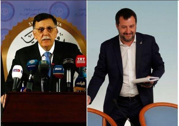 Al-Sarraj vola a Milano per incontrare Salvini, l'uomo forte