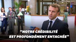 Le coup de gueule de Macron après 20h de réunions infructueuses au sommet