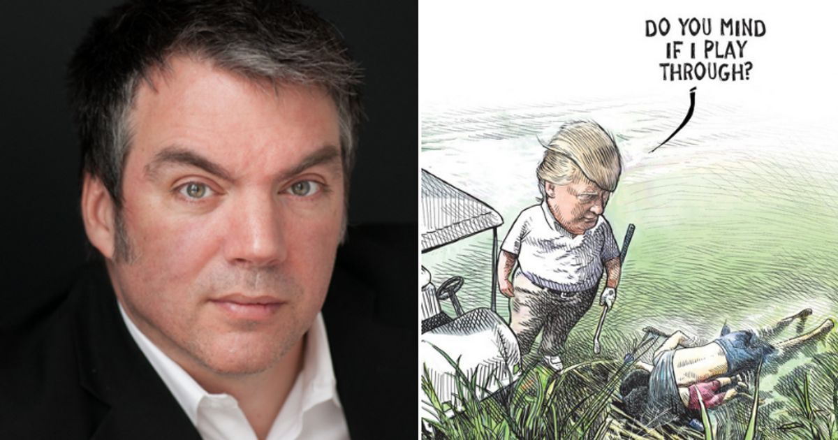 QnA VBage Michael De Adder Responds To Contract End After Trump Cartoon - HuffPost Canada