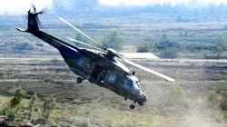 Γερμανία: Συνετρίβη στρατιωτικό ελικόπτερο – Τουλάχιστον ένας
