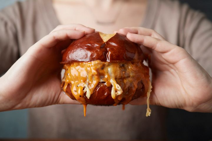 """Always avoid underseasoning burgers,"" Matthew Hyland, chef and co-founder of Emily and Emmy Squared restaurants in New York, told HuffPost. ""You can't salt the inside of a burger, so make sure you heavily salt on the outside. The burger juices wash away some of the salt, too."""