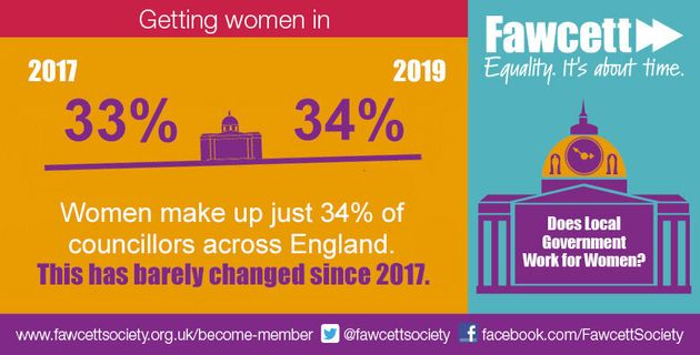 This Year's Elections Did Nothing To Get More Women Into Local Politics, Fawcett Society Research